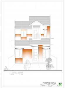 desain rumah type 21 2 lantai