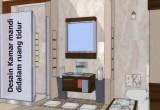 desain kamar mandi didalam ruang tidur