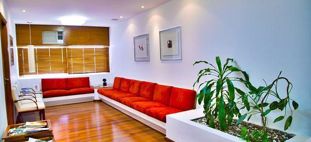 desain ruang tunggu kantor