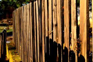pagar kayu